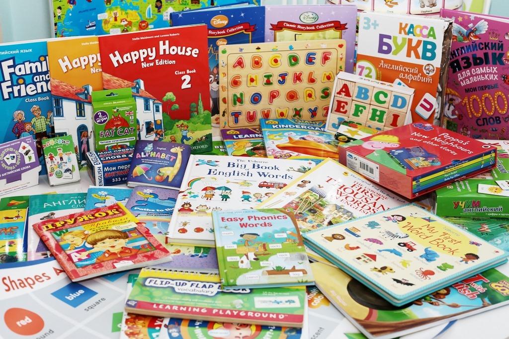 Что купить/подарить ребёнку для изучения английского языка?