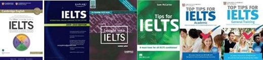 IELTS books about exam