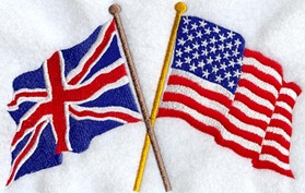 USA & Uk flag