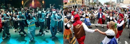 modern dance&Italian dance